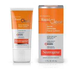 Neutrogena Rapid Clear Acne Defense Face Lotion
