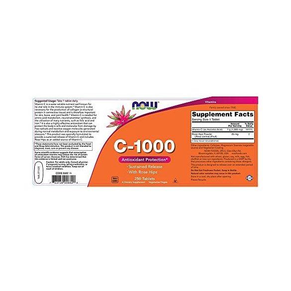 C 1000 mg vitamin 250 db tabletta
