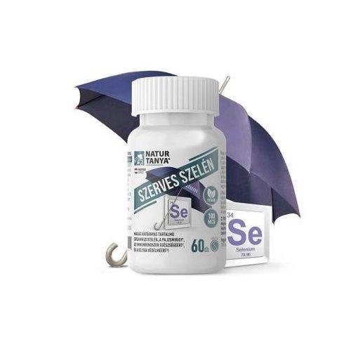 Natur Tanya® Szerves szelén - L-szelenometionin formájú, tökéletes biohasznosulású, 100mcg-os tabletta