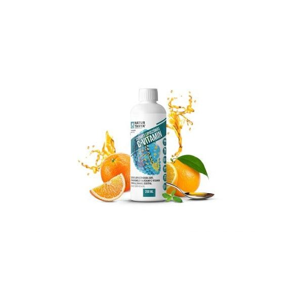 Natur Tanya® Liposzómás C-vitamin + cink folyékony formában 200ml