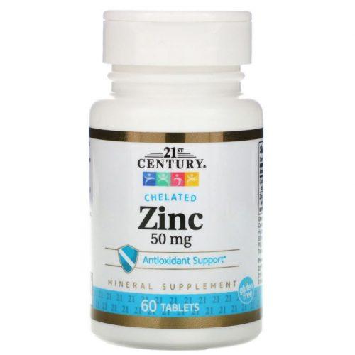 Cink 50 mg 60 db 21st Century