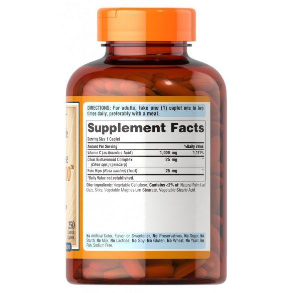 C vitamin hosszan felszivodo 1000 mg