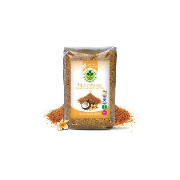 Dr. Natur étkek, Kókuszvirág cukor. Finomítatlan, természetes édesítő. Egészséges cukorhelyettesítő! 500g
