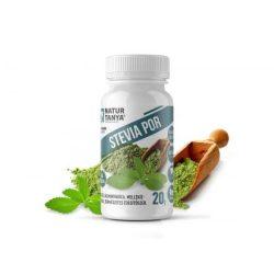 Dr. Natur étkek Stevia por (Édesfű, Jázminpakóca), mellékíz-mentes, növényi édesítő 20 g