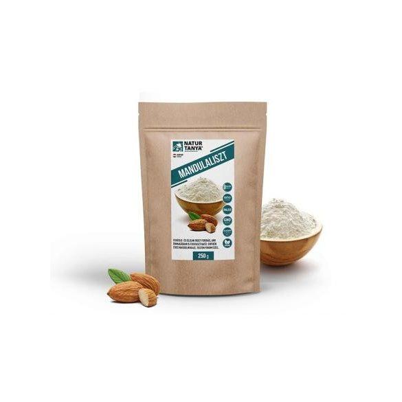 Dr. Natur étkek, Prémium Mandulaliszt - Enyhén édes aromájú lisztpótló, sütéshez, főzéshez vagy akár sűrítésre. 250g