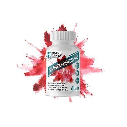 Natur Tanya® Szerves Koenzim Q10 – FERMENTÁLT NÖVÉNYI COQ10 (UBIKINON) tabletta