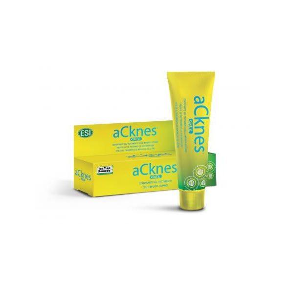 aCknes® gél - Aknék, pattanások és mitesszer ellen