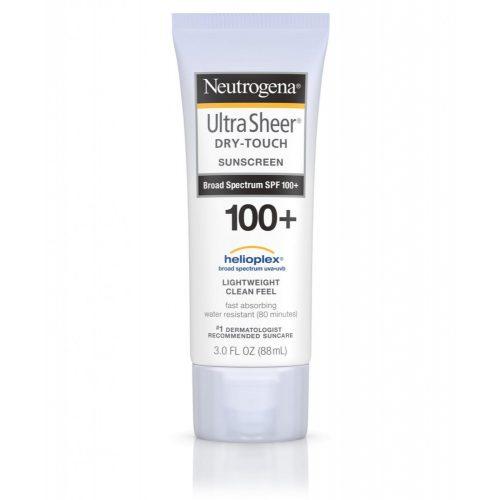 Neutrogena Ultra Sheer Dry-Touch  SPF100+  napozó krém 88ml
