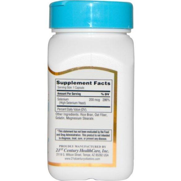 szelén 200 mg 60 db kapszula