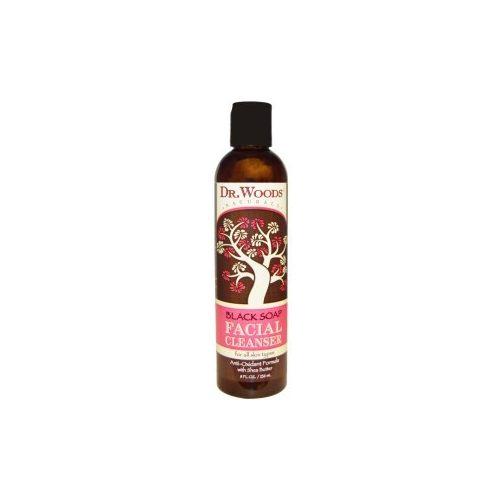 DrWoods Fekete szappanos arclemosó 236 ml Facial cleanser black soap