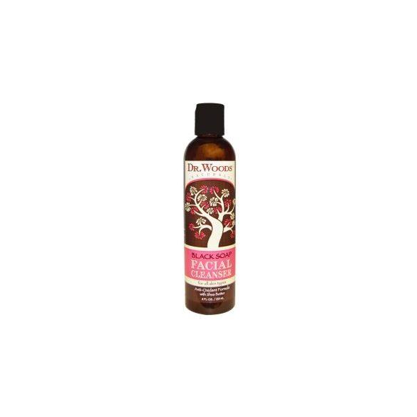 DrWoods Fekete szappanos arclemosó 236 ml