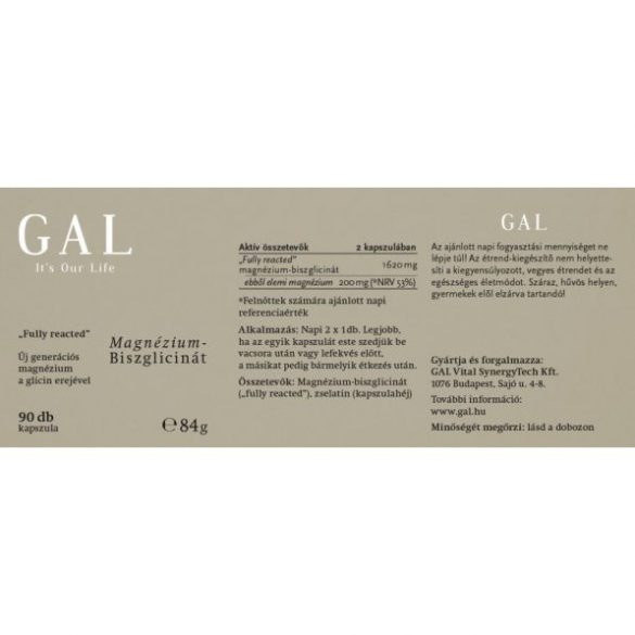 GAL Magnézium-biszglicinát