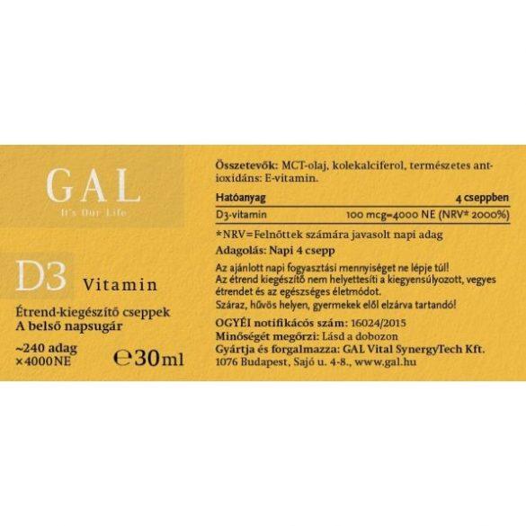 GAL D3-vitamin