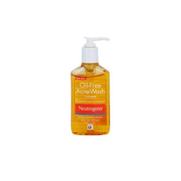 Olajmentes lemosó pattanásos bőrre - Oil-Free Acne Wash 269 ml