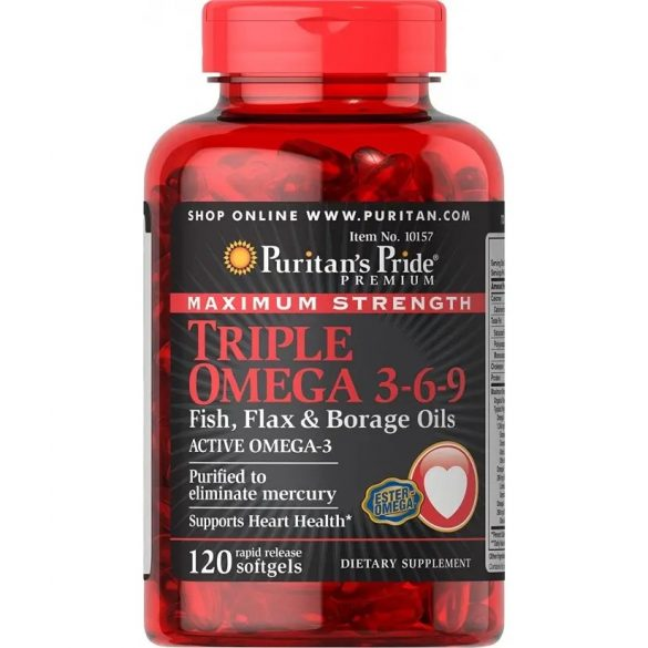 Tripla Omega 3-6-9  120 db softgél