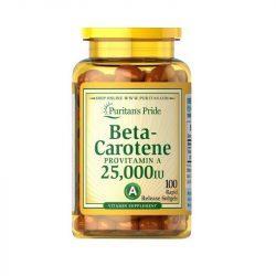 Beta-carotene provitamin 25000 NE  100db