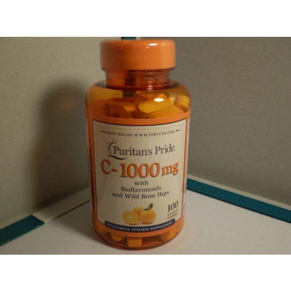 C vitamin 1000 mg bioflavonoidokkal és csipkebogyóval 100 db