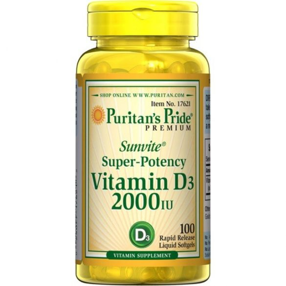Vitamin D3 2000 iu 200 db softgél