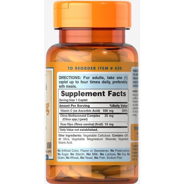 C-500 mg vitamin csipkebogyóval 100db