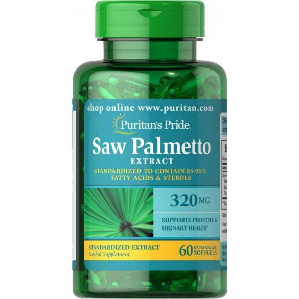 Fürészpálma (Saw Palmetto)  320mg lágykapszula 60db