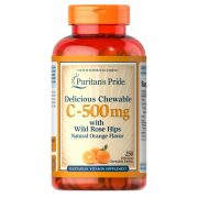C-500 mg vitamin Delicious Chewable 90db rágó tableta