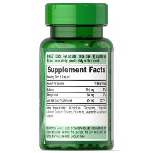 Cink Picolinate 25 mg 100 db