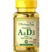 A és D3 vitamin 100db