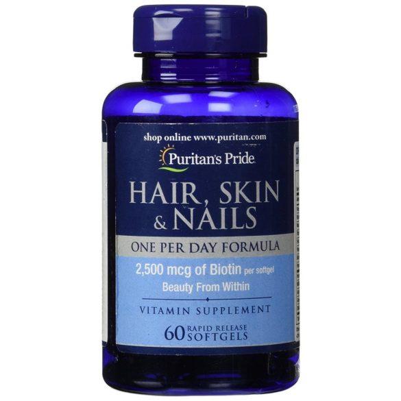 Haj, Bőr, Köröm vitamin 30 db lágy kapszula
