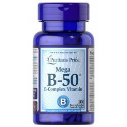 B-50 mega B-Complex vitamin 100db