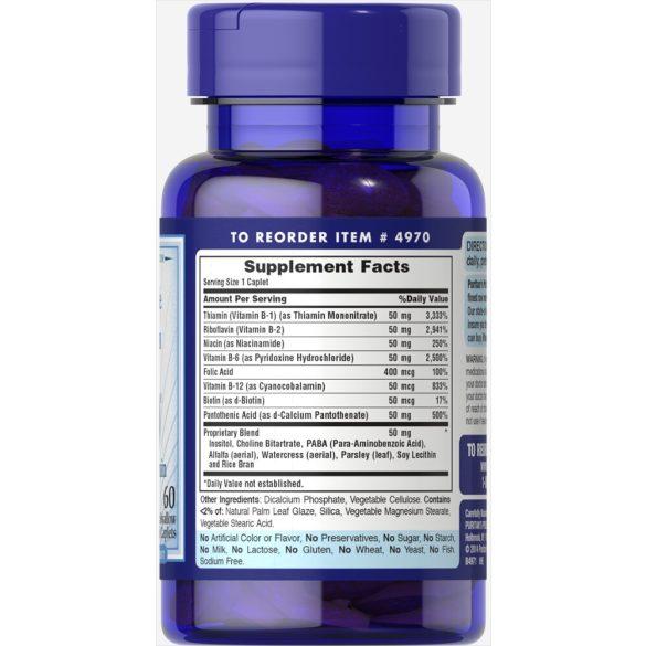 B vitamin 50 mega B-Complex vitamin 100db