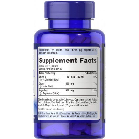 Kálcium Magnézium Vitamin D3 kapszula 100db