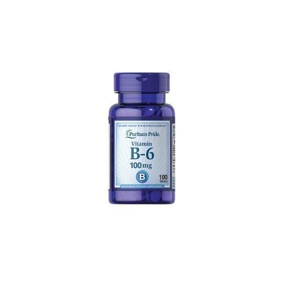 B-6 vitamin 100 mg 100 db tabletta