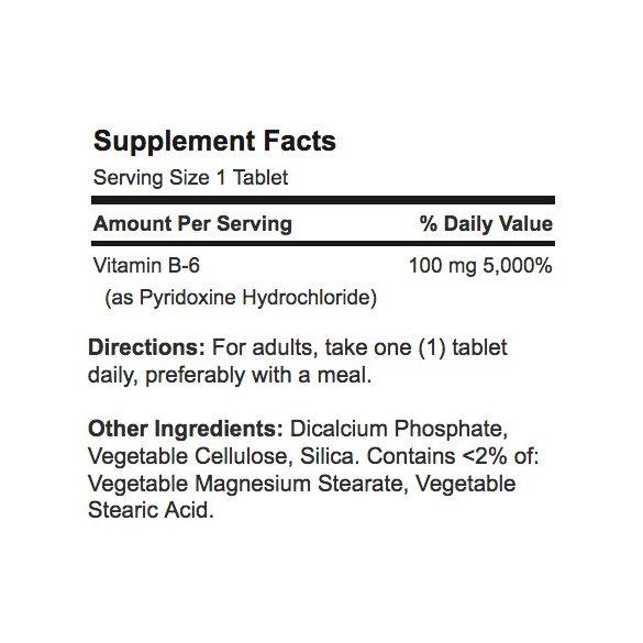 B6 vitamin 100 mg 100 db tabletta