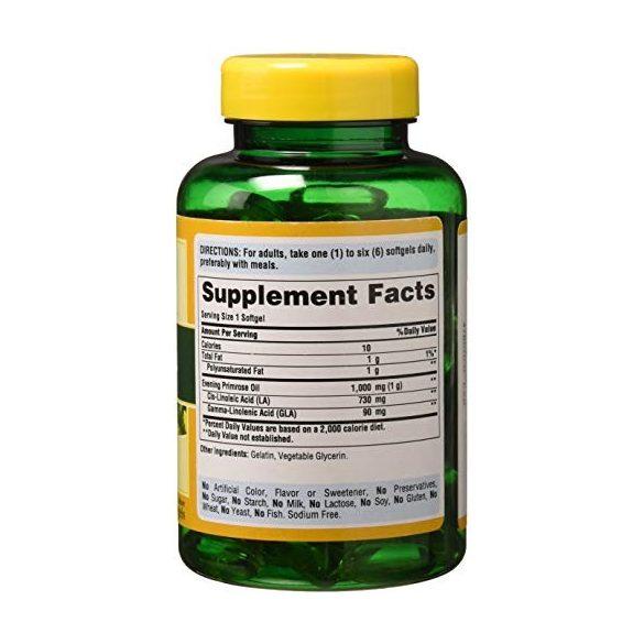 Ligetszépe olaj 1000 mg 120 db