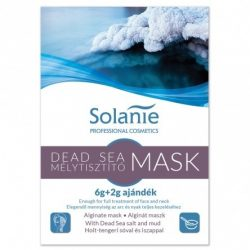 Solanie Alginát Holttengeri tisztító maszk