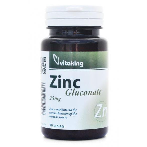 Cink glukonát 25 mg 90db  Vitaking