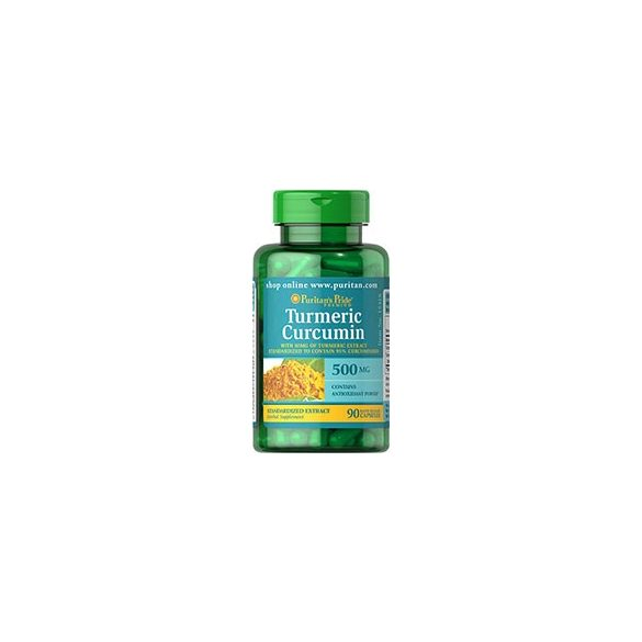 Turmeric Curcumin 500 mg 90 db kapszula/ kurkuma/